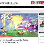 Jazzy Lorye I Am A Sorcerer, By Children Book Review