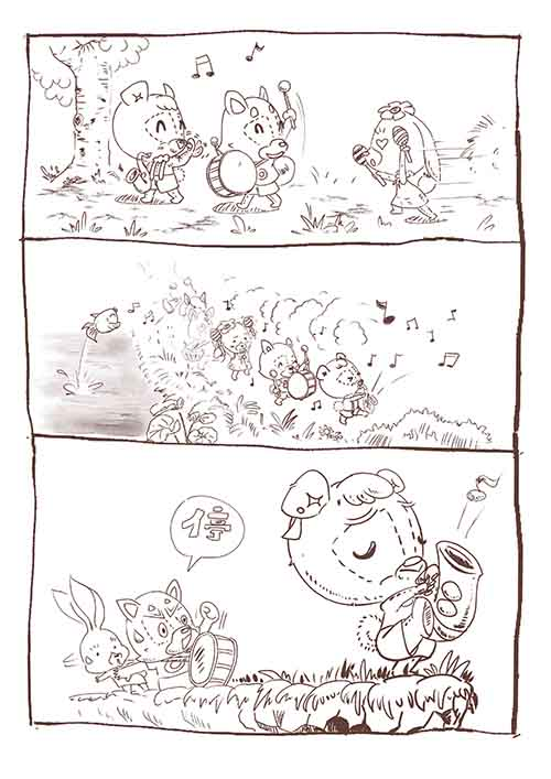 小熊諾樂與他的色士風2 Lorye the teddy and his Saxophone 2