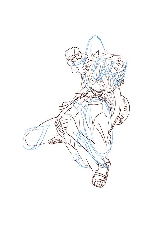 聖鬥士星矢+ 蒙其·D·魯夫 draft